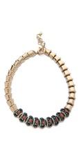 Elizabeth Cole Spine Chain Necklace