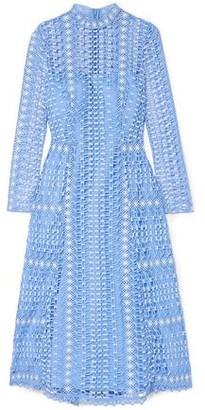 Temperley London Guipure Lace Midi Dress