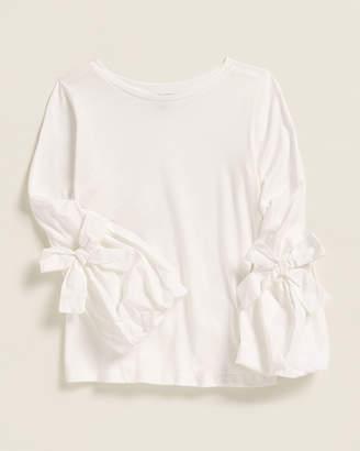 Habitual Girls 7-16) Peyton Long Sleeve Jersey Top