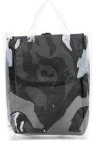 Yohji Yamamoto transparent backpack