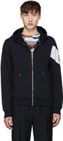 Moncler Gamme Bleu Navy Zip-up Hoodie