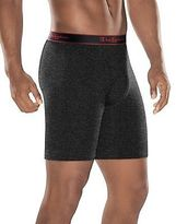 Champion Men's Underwear Active Performance Long Boxer Brief 3-Pack