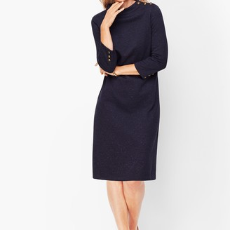 Talbots Heathered Shift Dress