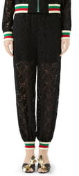 Gucci Lace Jogger Pants