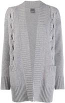 Lorena Antoniazzi short knitted cardigan