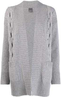 Lorena Antoniazzi short knitted cardigan