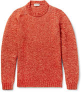 John Smedley - Storr Mélange Cotton, Alpaca And Merino Wool-blend Sweater