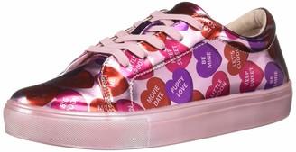 Katy Perry Women's The Sprinkle Sneaker pink multi 7 M M US