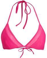 Bjorn Borg Seasonal solid triangle bikini top