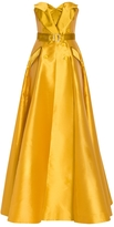 Alexis Mabille Bustier Belted Gown
