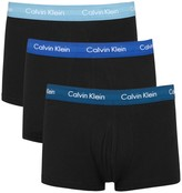 Calvin Klein Stretch Cotton Boxer Briefs - Set Of Three