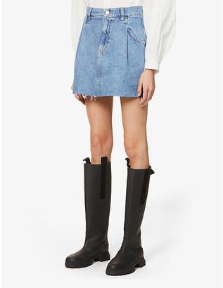 Free People Cosmico Flirt denim mini skirt