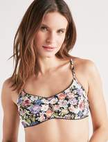 Lucky Brand Late Bloomer Bralette Bikini Top