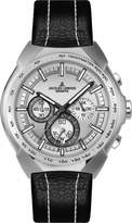 Jacques Lemans Jürgen Melzer Collection 1-1675B 45mm Stainless Steel Case Leather Mineral Men's Watch