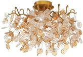 Eurofase Campobasso Collection 5-Light Gold Semi Flush Mount