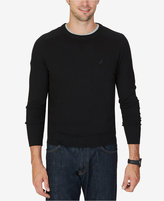 Nautica Men's Big & Tall Snowy V-Neck Sweater