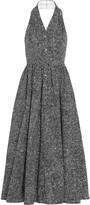 Michael Kors Printed cotton-poplin dress