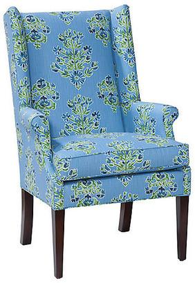 Imagine Home Charles Chair - Cornflower Blue