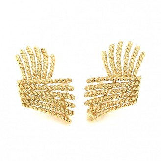 Tiffany & Co. Schlumberger Gold Yellow gold Earrings