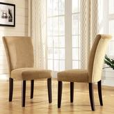 Home Origin Smoky Pearl Chenille Dining Chairs - Set of 2