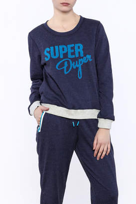 MinkPink Move Super Duper Sweatshirt