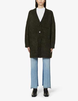 Acne Studios Kinbar V-neck knitted cardigan
