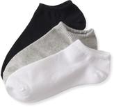 Aeropostale 3-Pack Solid Ankle Socks