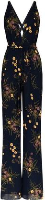 Reformation Floral-Print Jumpsuit