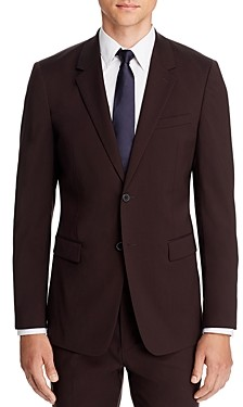 Theory Chambers Sartorial Stretch Wool Slim Fit Suit Jacket