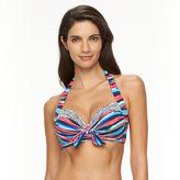 Apt. 9 Women's Watercolor Halter Bikini Top