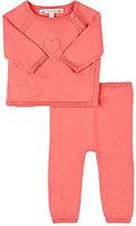 Bonpoint Cotton Sweater & Pant Set