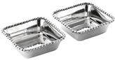 Michael Aram Set of 2 New Molten Mini Snack Dishes