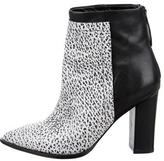 Loeffler Randall Leather Pointed-Toe Ankle Boots