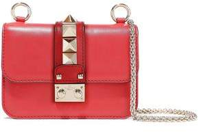 Valentino Garavani Glam Lock Leather Shoulder Bag