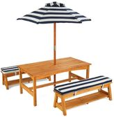 Kid Kraft Striped Outdoor Table & Bench Set