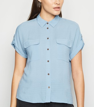 New Look Short Sleeve Utility Shirt