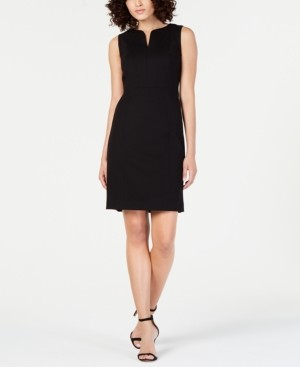 Elie Tahari Natanya Sleeveless Structured Dress