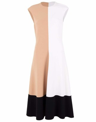 Michael Kors Colorblock Long Dress