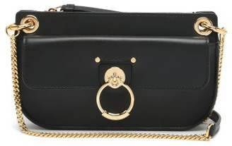 Chloé Tess Mini Leather Cross-body Bag - Black