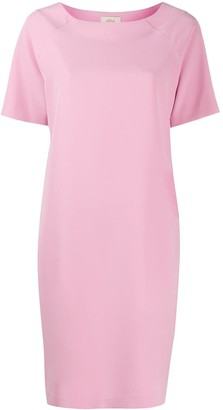 Altea Boat-Neck Shift Dress