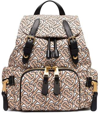Burberry small monogram print rucksack