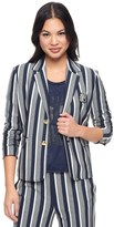 Juicy Couture Stripe Ponte Jacket