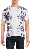 Point Zero Floral Crew Neck T-Shirt