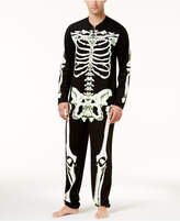 Bioworld Men's Halloween Glow-In-The-Dark Skeleton 1-Pc. Costume