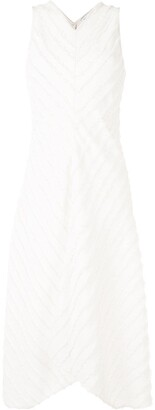 Proenza Schouler White Label Fringe Fil-Coupe Dress