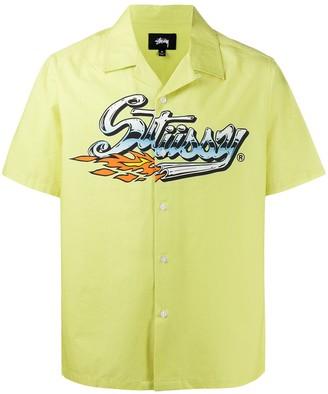 Stussy Graphic Print Shirt