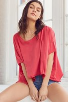 Truly Madly Deeply Around The World Dolman Sleeve Tee