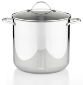 Tools of the Trade Stainless Steel 20 Qt. Covered Stockpot, Created for Macy's