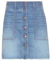 Current/Elliott The Navel Denim Skirt