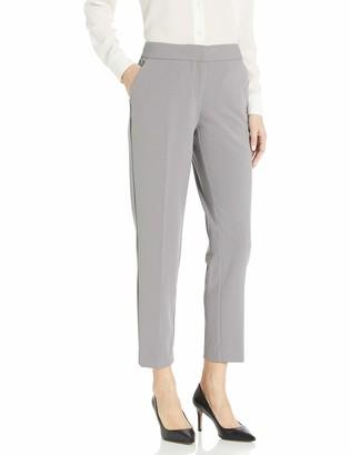Nine West Women's Plus Size Drapey Crepe Pant